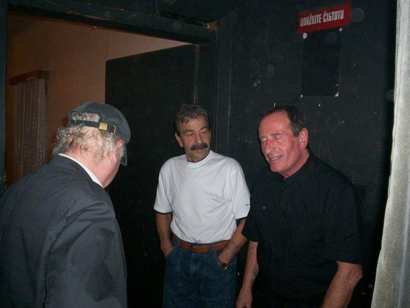 Zleva: Bohouš Vávra, F. Porkristl, L. Tupý (Sinners)