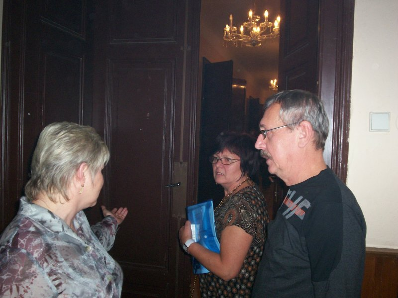 Marie Kubovcová, Karel Červený